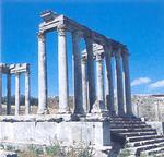 Античный центр Туниса - древний город Дугга, Тунис