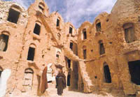 Увеличить: Матмата - город троглодитов, Тунис, Тунис