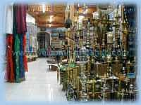 Вид обычного сувенирного магазина в Дахабе