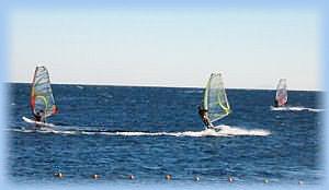 Дахаб виндсерфинг на ЛайтХаусе в умеренный ветер