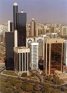 Небоскребы Абу Даби